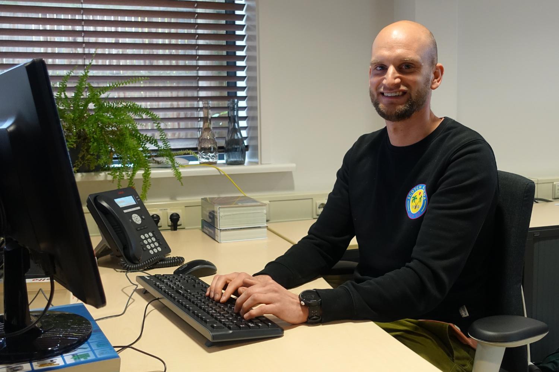Nieuwe collega: servicecoördinator Bjorn